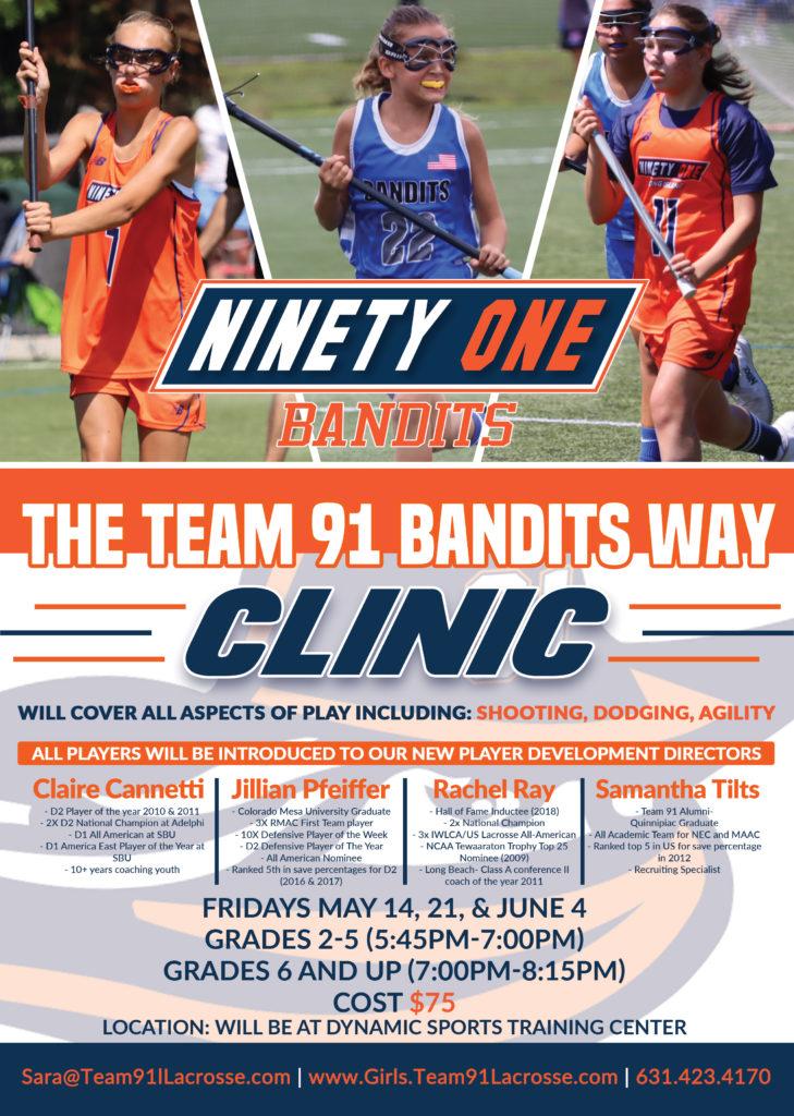 2021-Team91Bandits-Clinic-Girls